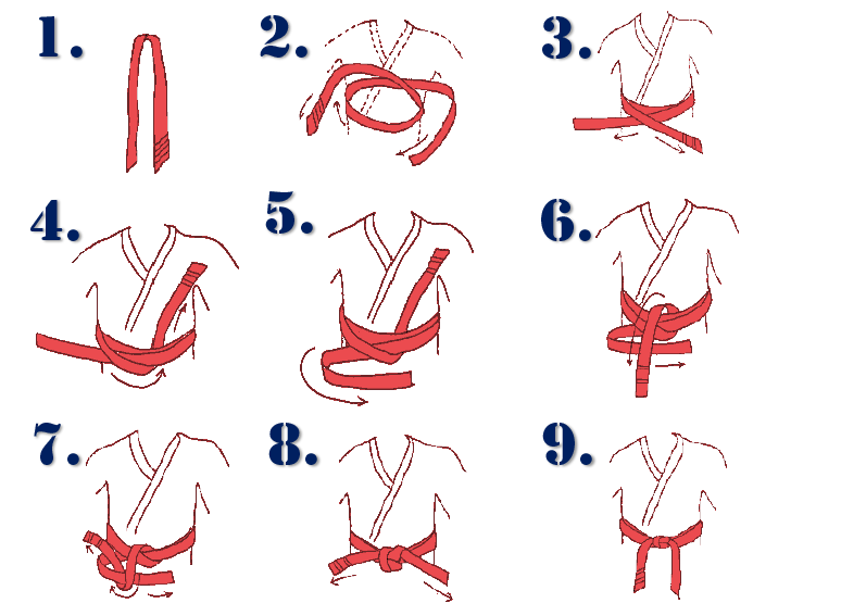 How To Tie A Taekwondo Belt Images - How To Guide And Refrence